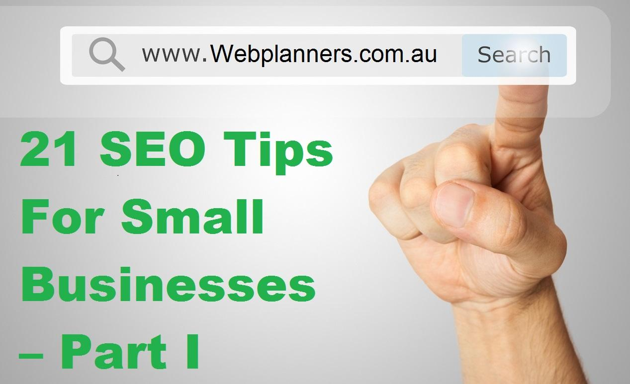 21 SEO Tips For Small Businesses