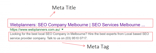 HTML Tags to Crack the Deal of SEO Success - Webplanners SEO Company Melbourne